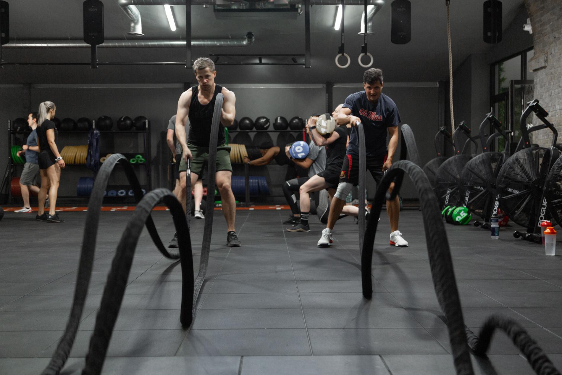 Crossfit sweat fitness london